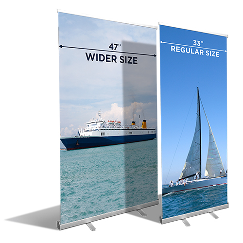 Full Color Retractable Banner Stands