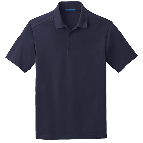 k164 navy mens polo