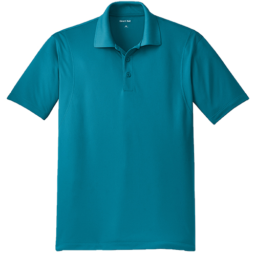 st650 tropic blue mens polo