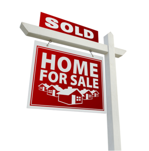 Single Post Real Estate Sign